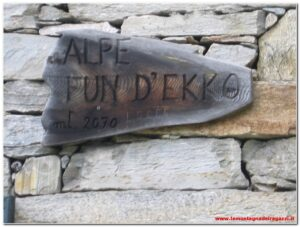 Valsesia – Alpe Fun d'Ekko