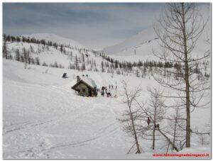Val Bognanco – Rifugio Gattascosa con le ciaspole