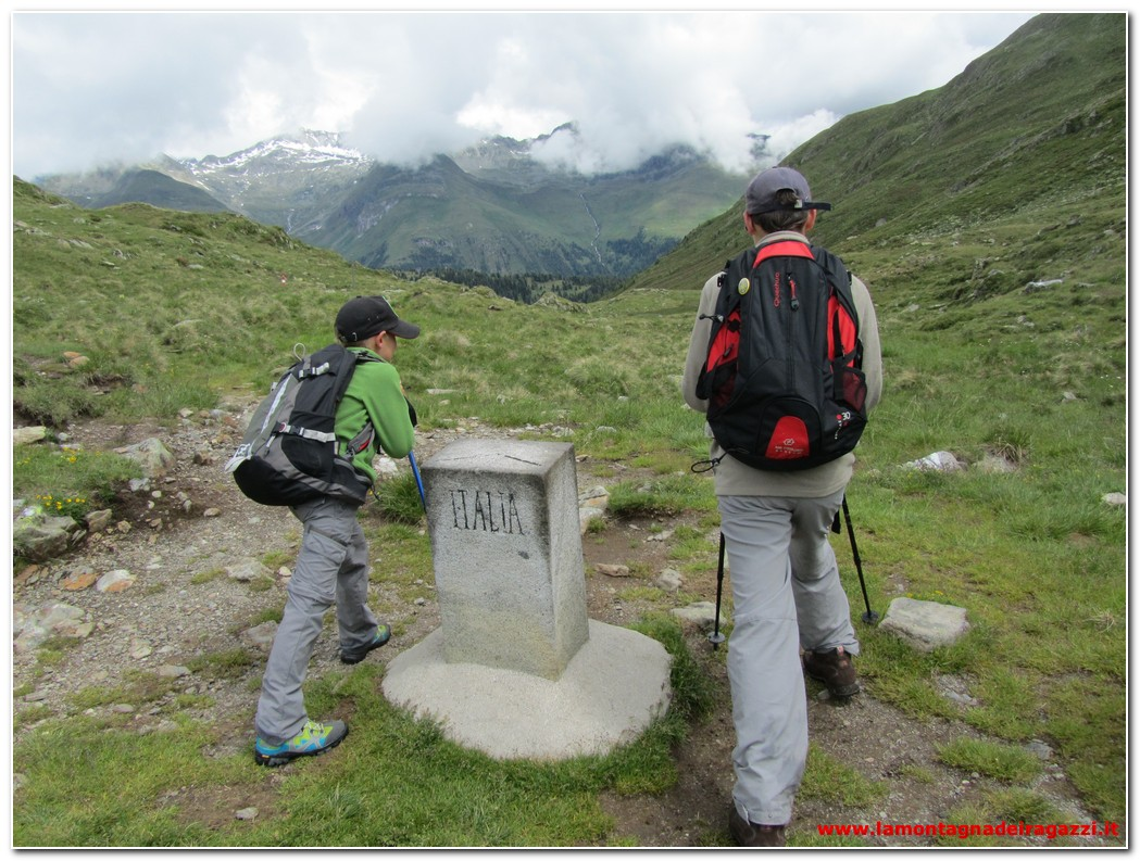Read more about the article Valle di Casies – Forcella di Casies e sentiero Weg 2000