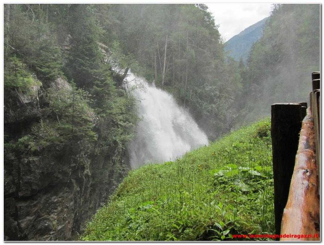 Read more about the article Valle Aurina – Cascate di Riva e Castel Tobel