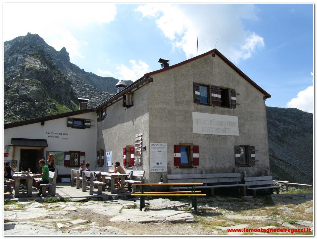 Valle Aurina – Rifugio Giovanni Porro (Chemintzer Hütte)
