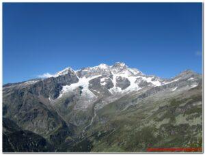 Il Monte Rosa dal Belvedere