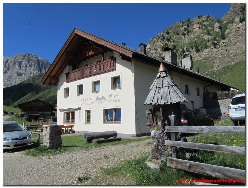 Parco naturale Sciliar-Catinaccio – Rifugio Molignon (Mahlknecht Hütte)