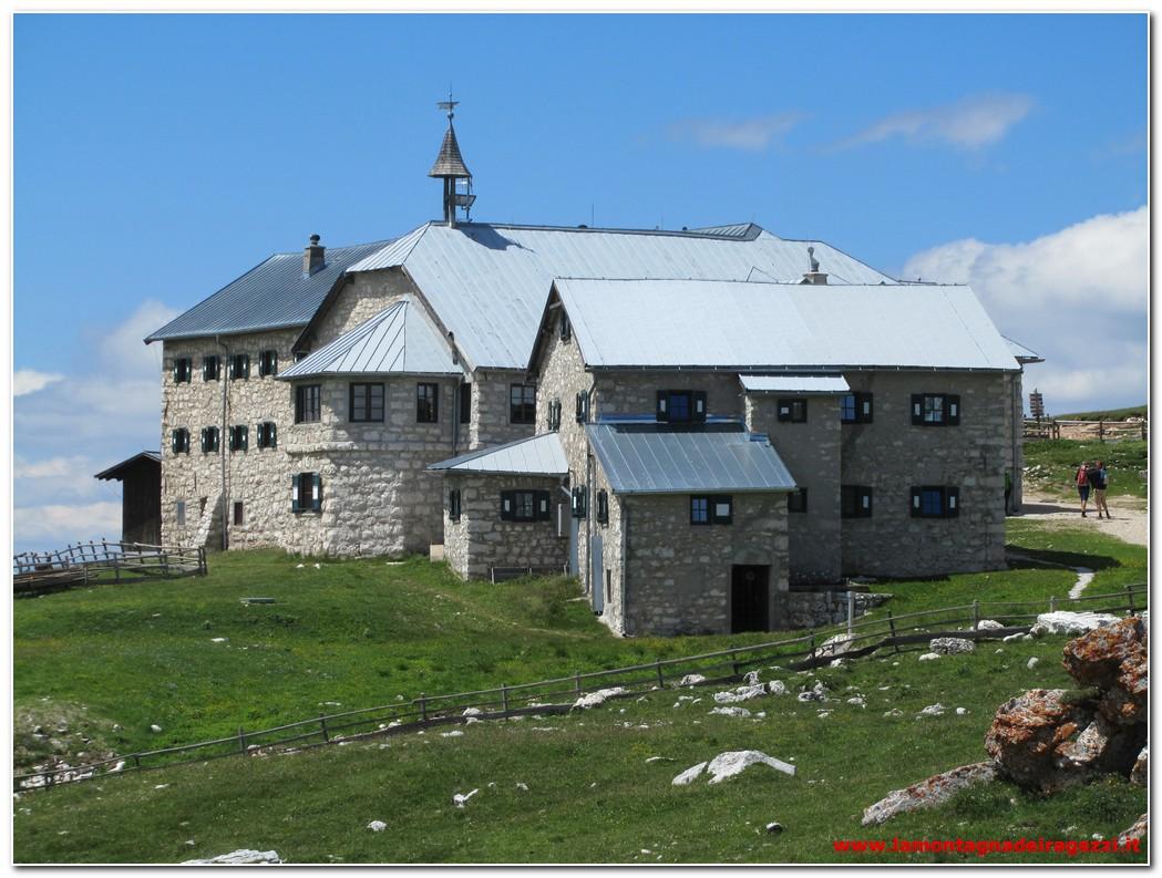 Parco naturale Sciliar-Catinaccio – Rifugio Bolzano e Monte Pez sullo Sciliar