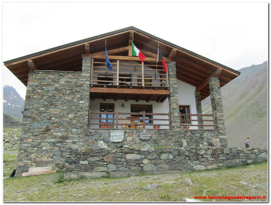 Read more about the article Valle Centrale – Rifugio Arbolle