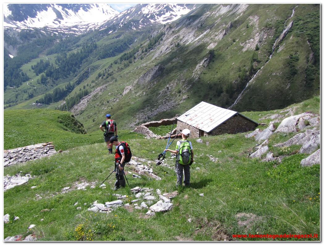 Valle del Gran San Bernardo – Alpe Moindaz o Muenda